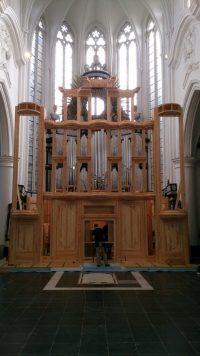 Flentrop orgelbouw project Leuven